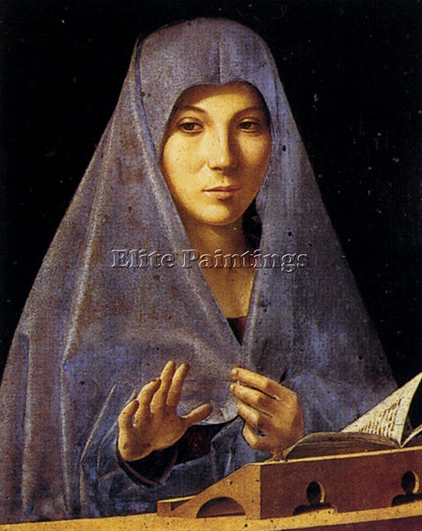 ANTONELLO DA MESSINA ANTONELLO DA ANNUNCIATION ARTIST PAINTING REPRODUCTION OIL