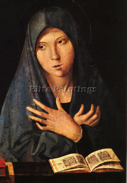 ANTONELLO DA MESSINA VIRGIN OF THE ANNUNCIATION ARTIST PAINTING REPRODUCTION OIL