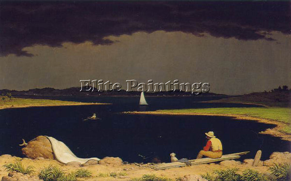 MARTIN JOHNSON HEADE APPROACHING THUNDERSTORM ATC ARTIST PAINTING REPRODUCTION