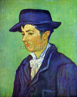 VAN GOGH ARMAND ROULIN ARTIST PAINTING REPRODUCTION HANDMADE CANVAS REPRO WALL