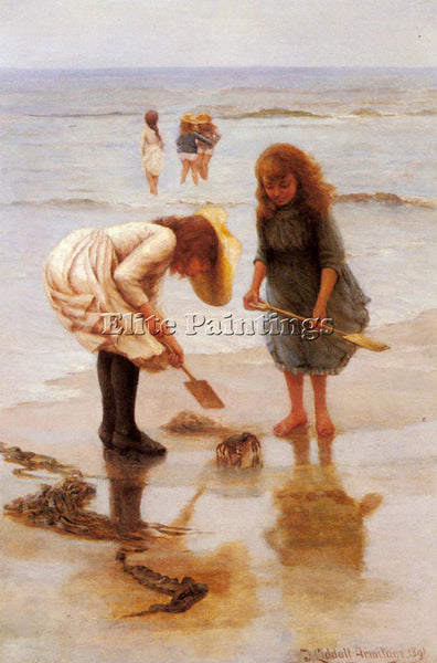 BRITISH ARMITAGE THOMAS LIDDALL WHEN WE WERE YOUNG ARTIST PAINTING REPRODUCTION
