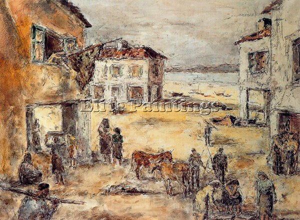 ARTURO SOUTO SOU127 ARTIST PAINTING REPRODUCTION HANDMADE CANVAS REPRO WALL DECO