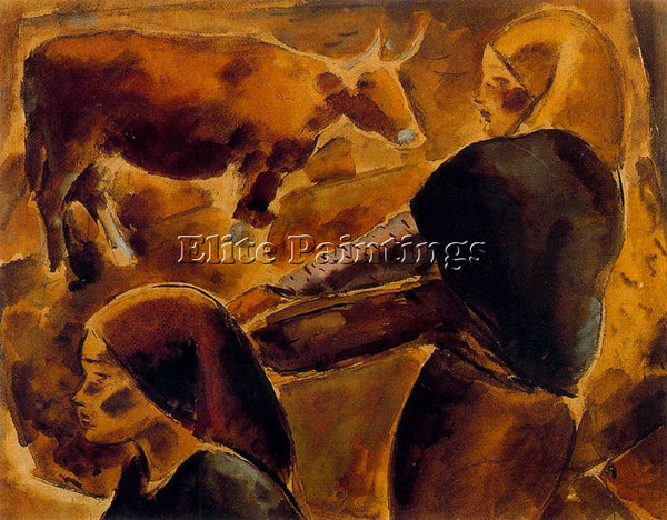 ARTURO SOUTO SOU128 ARTIST PAINTING REPRODUCTION HANDMADE CANVAS REPRO WALL DECO