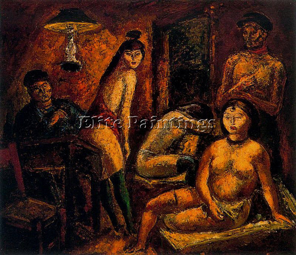 ARTURO SOUTO SOU129 ARTIST PAINTING REPRODUCTION HANDMADE CANVAS REPRO WALL DECO