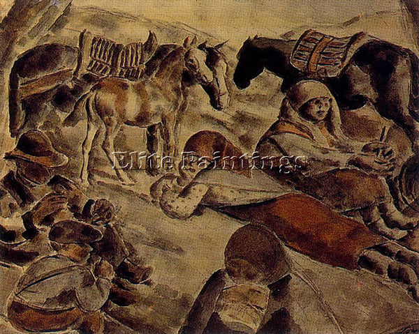 ARTURO SOUTO SOU139 ARTIST PAINTING REPRODUCTION HANDMADE CANVAS REPRO WALL DECO