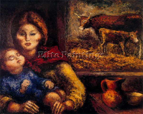 ARTURO SOUTO SOU155 ARTIST PAINTING REPRODUCTION HANDMADE CANVAS REPRO WALL DECO