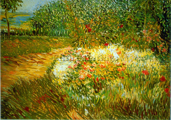 VAN GOGH ASNIERES ARTIST PAINTING REPRODUCTION HANDMADE CANVAS REPRO WALL DECO