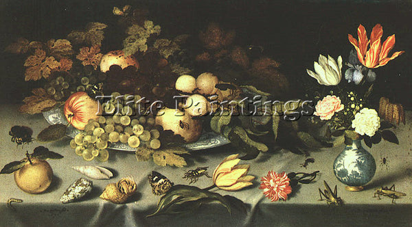 DUTCH AST BALTHASAR VAN DER DUTCH APPROX 1593 AFTER 1656 AST1 PAINTING HANDMADE
