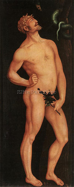 HANS BALDUNG GRIEN ADAM ARTIST PAINTING REPRODUCTION HANDMADE CANVAS REPRO WALL