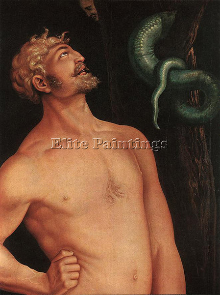 HANS BALDUNG GRIEN ADAM DETAIL ARTIST PAINTING REPRODUCTION HANDMADE OIL CANVAS