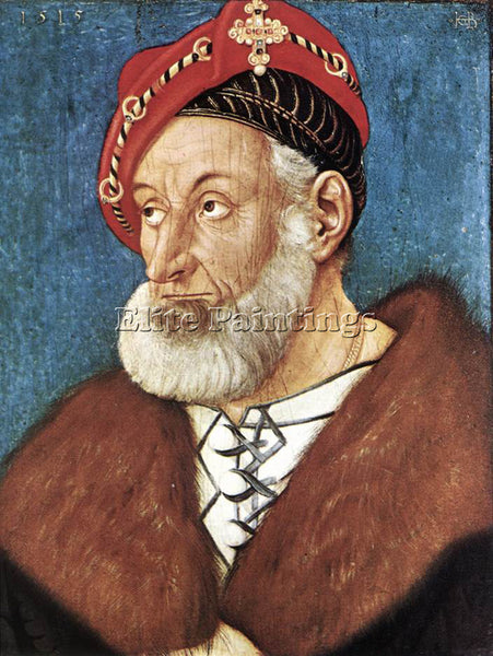 HANS BALDUNG GRIEN COUNT CHRISTOPH I OF BADEN ARTIST PAINTING REPRODUCTION OIL