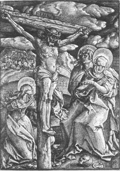 HANS BALDUNG GRIEN CRUCIFIXION ARTIST PAINTING REPRODUCTION HANDMADE OIL CANVAS