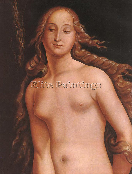 HANS BALDUNG GRIEN EVE DETAIL ARTIST PAINTING REPRODUCTION HANDMADE CANVAS REPRO