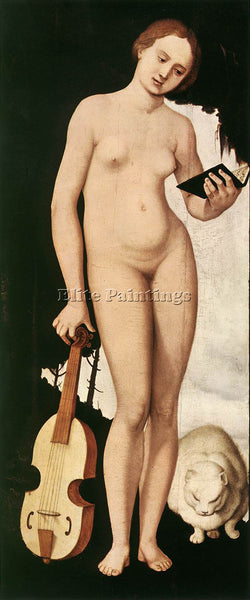 HANS BALDUNG GRIEN MUSIC ARTIST PAINTING REPRODUCTION HANDMADE CANVAS REPRO WALL
