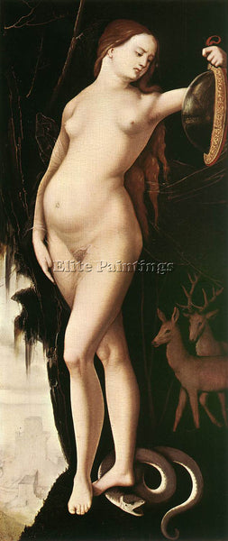 HANS BALDUNG GRIEN PRUDENCE ARTIST PAINTING REPRODUCTION HANDMADE OIL CANVAS ART