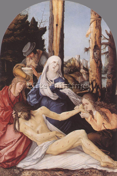 HANS BALDUNG GRIEN THE LAMENTATION OF CHRIST ARTIST PAINTING HANDMADE OIL CANVAS