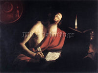 FRENCH BIGOT TROPHIME ST JEROME ARTIST PAINTING REPRODUCTION HANDMADE OIL CANVAS