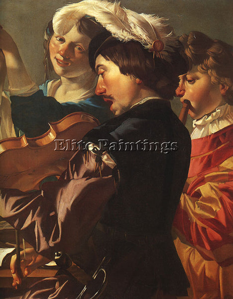 DUTCH BABUREN DIRCK VAN DUTCH 1595 1624 BABUREN1 ARTIST PAINTING HANDMADE CANVAS