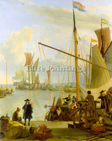DUTCH BACKHUYSEN LUDOLF DUTCH 1631 1708 BACKHUYSEN1 ARTIST PAINTING REPRODUCTION