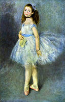 RENOIR BALLET DANCER ARTIST PAINTING REPRODUCTION HANDMADE OIL CANVAS REPRO WALL