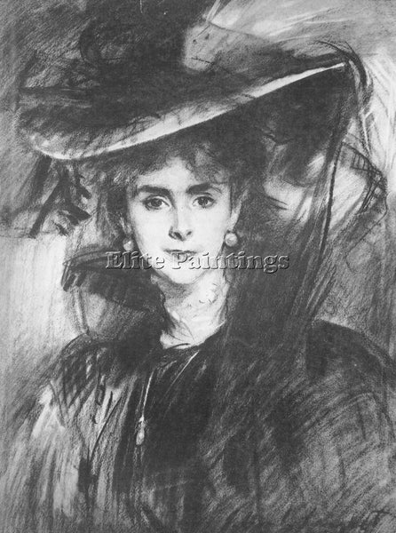 JOHN SINGER SARGENT BARONESS DE MEYER ARTIST PAINTING REPRODUCTION HANDMADE OIL