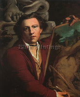 BRITISH BARRY JAMES IRISH 1741 1806 1 ARTIST PAINTING REPRODUCTION HANDMADE OIL