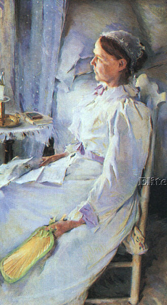 AMERICAN BEAUX CECILIA AMERICAN 1855 1942 ARTIST PAINTING REPRODUCTION HANDMADE