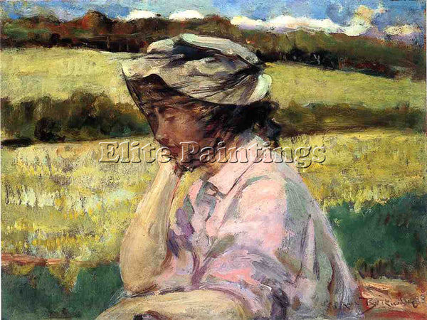 JAMES CARROLL BECKWITH LOST IN THOUGHT ARTIST PAINTING REPRODUCTION HANDMADE OIL