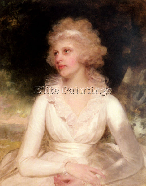 BRITISH BEECHEY SIR WILLIAM PORTRAIT OF SOPHIA ANNE RAYMOND BARKER REPRODUCTION
