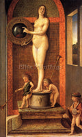 GIOVANNI BELLINI ALLEGORY OF VANITAS ARTIST PAINTING REPRODUCTION HANDMADE OIL
