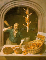 DUTCH BERCKHYDE JOB DUTCH 1630 1693 ARTIST PAINTING REPRODUCTION HANDMADE OIL