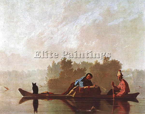 AMERICAN BINGHAM GEORGE CALEB AMERICAN 1811 1879 1 ARTIST PAINTING REPRODUCTION