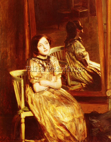 JACQUES EMILE BLANCHE  REFLECTIONS ARTIST PAINTING REPRODUCTION HANDMADE OIL ART