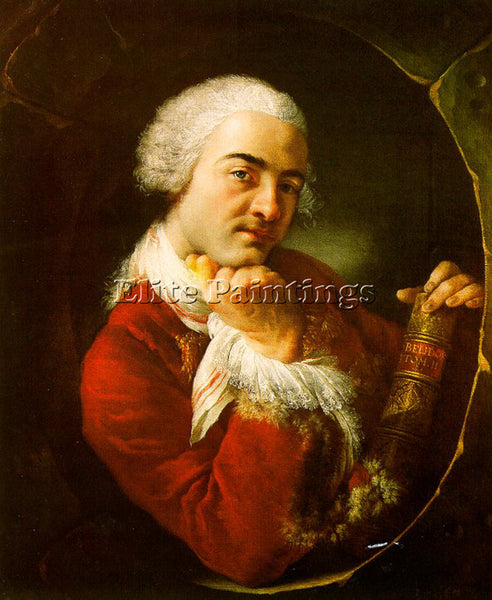 FRENCH BLANCHET LOUIS GABRIEL FRENCH 1705 1772 ARTIST PAINTING REPRODUCTION OIL