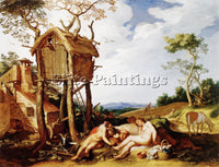 ABRAHAM BLOEMAERT 24TARES ARTIST PAINTING REPRODUCTION HANDMADE OIL CANVAS REPRO