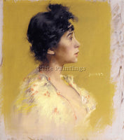 AMERICAN BLUM ROBERT FREDERICK FLORA DE STEPHANO THE ARTIST S MODEL PAINTING OIL - Oil Paintings Gallery Repro