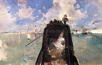 AMERICAN BLUM ROBERT FREDERICK IN THE GONDOLA ARTIST PAINTING REPRODUCTION OIL