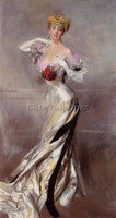 GIOVANNI BOLDINI PORTRAIT OF THE COUNTESS ZICHY ARTIST PAINTING REPRODUCTION OIL