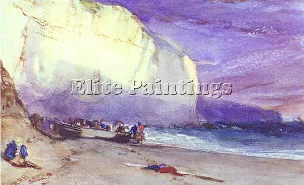 RICHARD PARKES BONINGTON PARKES THE UNDERCLIFF 1828 ARTIST PAINTING REPRODUCTION