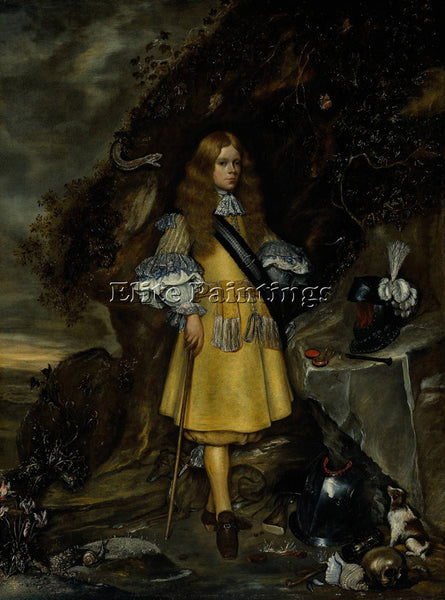 GERARD TER BORCH  II MEMORIAL PORTRAIT OF MOSES BORCH ARTIST PAINTING HANDMADE