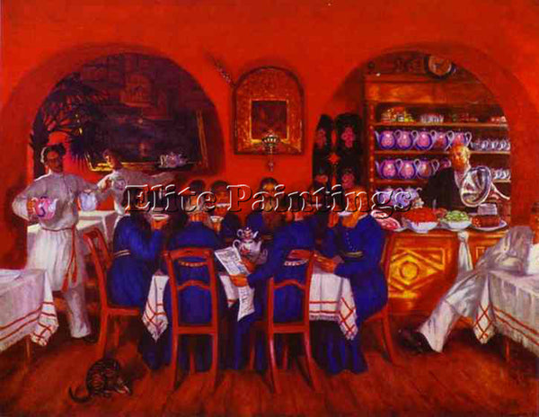 BORIS KUSTODIEV KUSTO82 ARTIST PAINTING REPRODUCTION HANDMADE CANVAS REPRO WALL