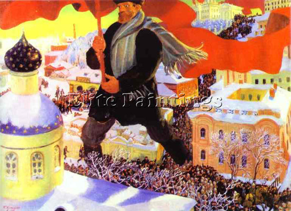 BORIS KUSTODIEV KUSTO84 ARTIST PAINTING REPRODUCTION HANDMADE CANVAS REPRO WALL