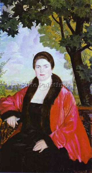 BORIS KUSTODIEV KUSTO89 ARTIST PAINTING REPRODUCTION HANDMADE CANVAS REPRO WALL