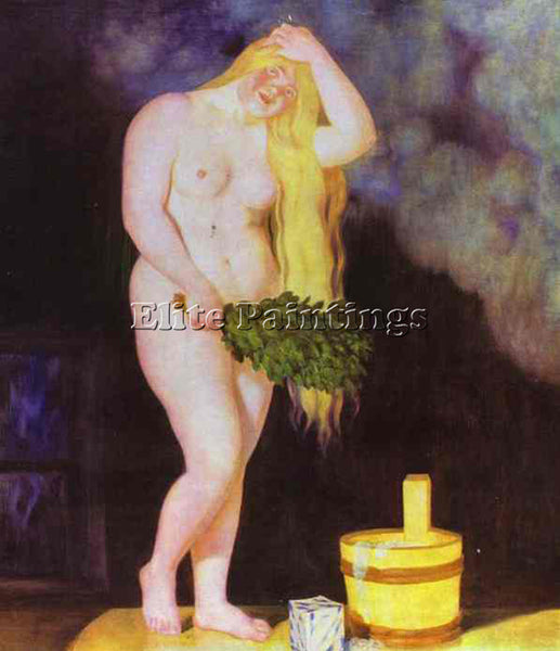 BORIS KUSTODIEV KUSTO91 ARTIST PAINTING REPRODUCTION HANDMADE CANVAS REPRO WALL