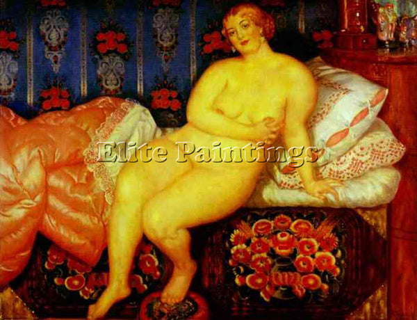 BORIS KUSTODIEV KUSTO96 ARTIST PAINTING REPRODUCTION HANDMADE CANVAS REPRO WALL