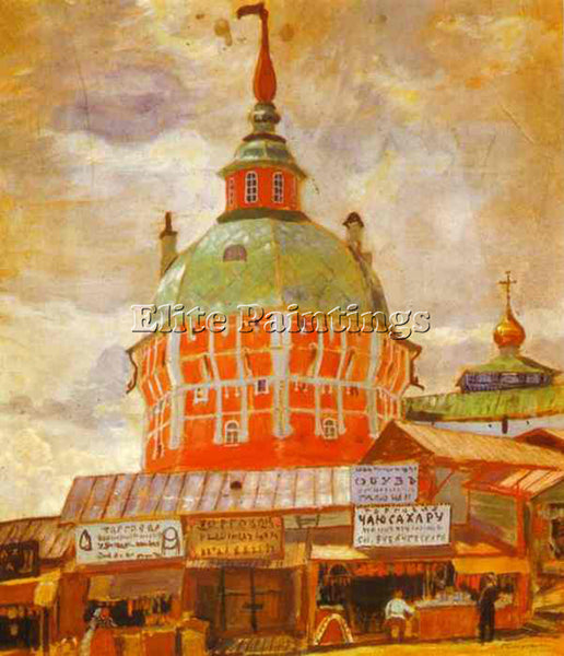 BORIS KUSTODIEV KUSTO108 ARTIST PAINTING REPRODUCTION HANDMADE CANVAS REPRO WALL