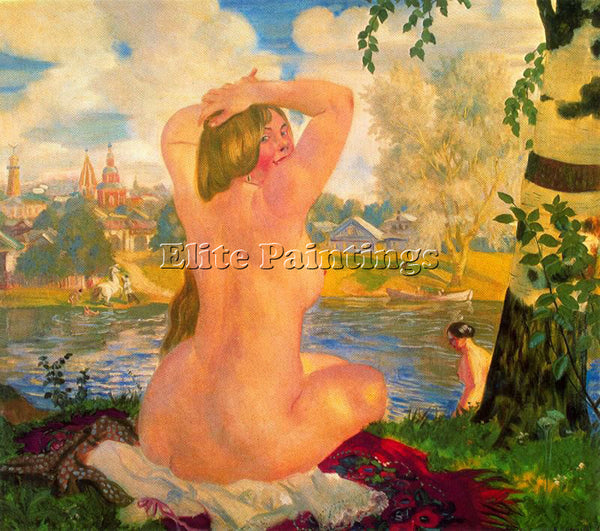 BORIS KUSTODIEV KUSTO121 ARTIST PAINTING REPRODUCTION HANDMADE CANVAS REPRO WALL