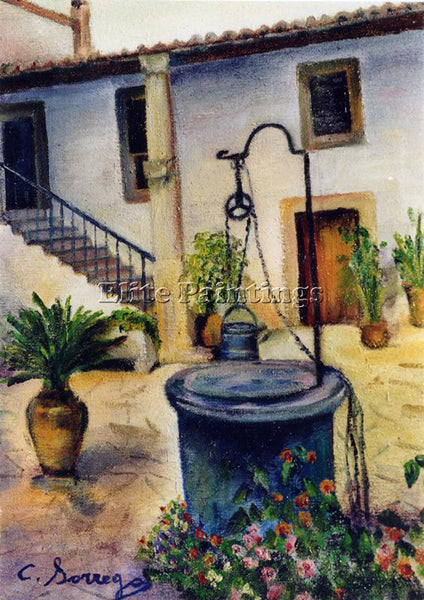 BORREGO RUIZ CAH13HGL ARTIST PAINTING REPRODUCTION HANDMADE OIL CANVAS REPRO ART