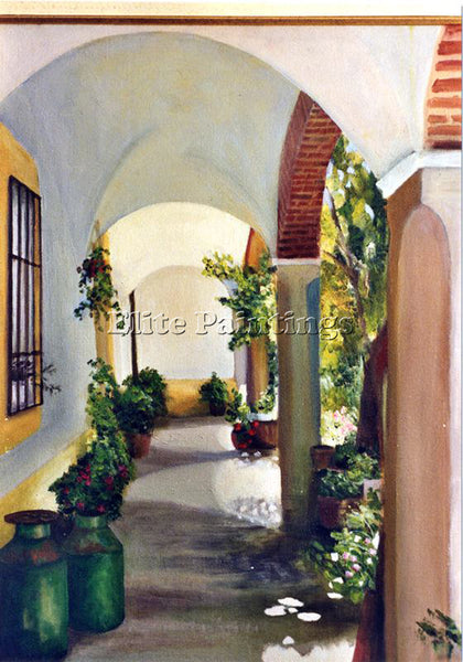 BORREGO RUIZ CAYZ4HUJ ARTIST PAINTING REPRODUCTION HANDMADE OIL CANVAS REPRO ART
