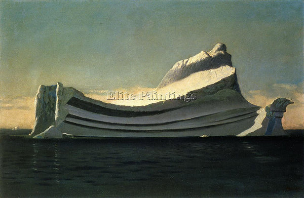 WILLIAM BRADFORD ICEBERG ARTIST PAINTING REPRODUCTION HANDMADE CANVAS REPRO WALL